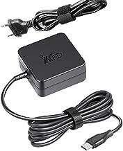 KFD 65W Type C Cargador USB Tipo C USB C Adaptador para HP Spectre X360 13-ae000ns, Lenovo Yoga 920-13IKB 720-13 730-13 910-13IKB Chromebook S330, Asus ZenBook 3 UX391 UX391A UX390UA, Dell XPS 13 9350