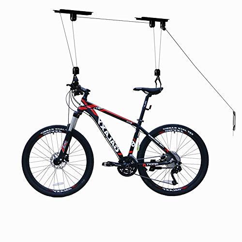 TORACK Bike Hoist Bike Ceiling Mount Lift Bicycle Hanging Rack