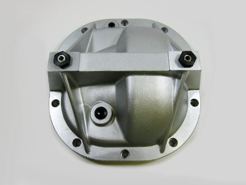 8.8 Ford Mustang Aluminum Differential Cover Rear End Girdle System Premium Quality - Silver