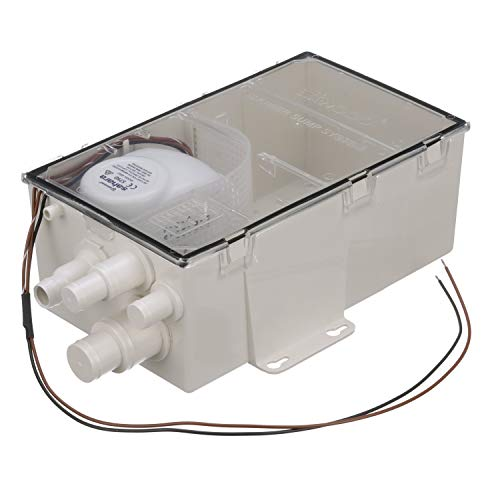attwood 4143-4 Large-Box 12V Shower Sump Pump System - 36