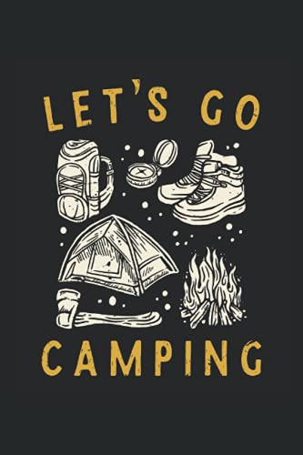 lets go camping: Hangman Puzzles | 110 Game Sheets | Mini Game | Clever Kids | 6 x 9 in | 15.24 x 22.86 cm | Single Player | Funny Great Gift