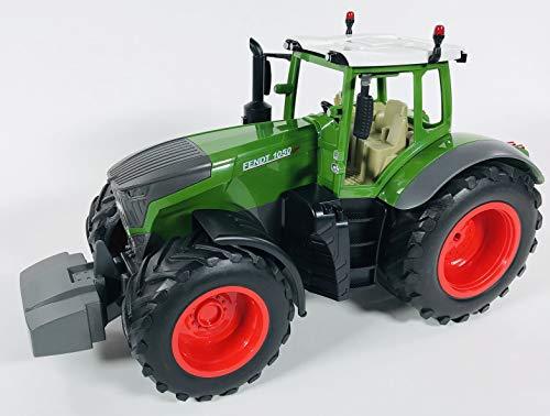 BUSDUGA RC Ferngesteuerter Traktor FENDT 1050 Vario 1:16 - 2,4Ghz, inkl. Batterien - Sound - RTR (Ready-to-Run) Sofort Spielbereit - Lizenz NACHBAU