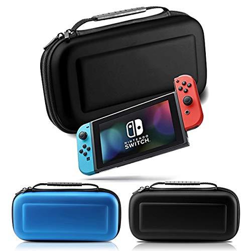 Topsale-ycld Nintendo Switch Carrying Cases & Storage - Funda Protectora para Nintendo Switch Fabric + Accesorios de Goma EVA. Color Negro, Negro, 27 * 13 * 5cm