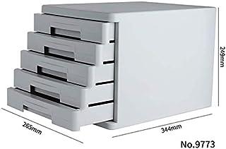 Classeurs fichier de Stockage de Bureau A4 Papier Armoire à tiroirs de Rangement Boîte de Rangement Accueil de Bureau en P...