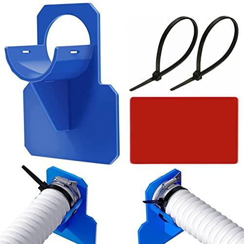Pool Schlauchhalter Schwimmbad Rohrhalter passen für Intex und Bestway Pools, Schlauchhalterung Knickschutz Schwimmbadrohrhalterung Poolrohrhalter Fitting (30–37mm)