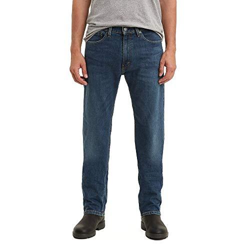 Levi's Men's 505 Regular Fit Jeans, Vines - Stretch, 40W x 29L
