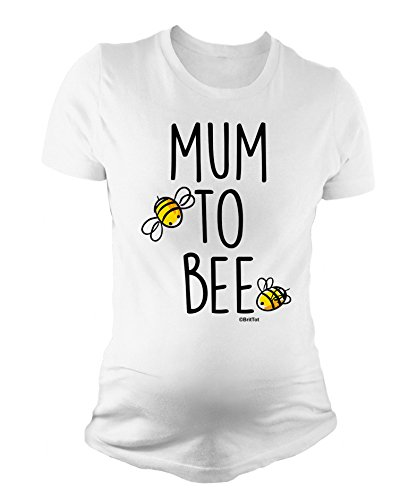 BritTot T-Shirt de maternité pour Dames Mum to Bee Cadeau de Grossesse by