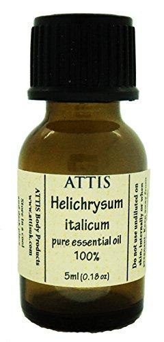 ATTIS Huile essentielle Hélichryse italienne / Immortelle / Helichrysum Italicum / 5ml