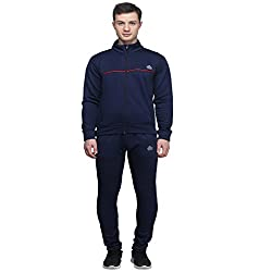 Abloom Navy & Red Stylish Winter Wear Mens Track Suits