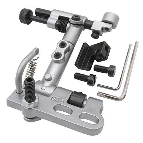 CKPSMS Marca: #GB-6 1SET Guía de borde suspendido compatible con máquinas de coser industriales Juki LU-1508 LU-1510.