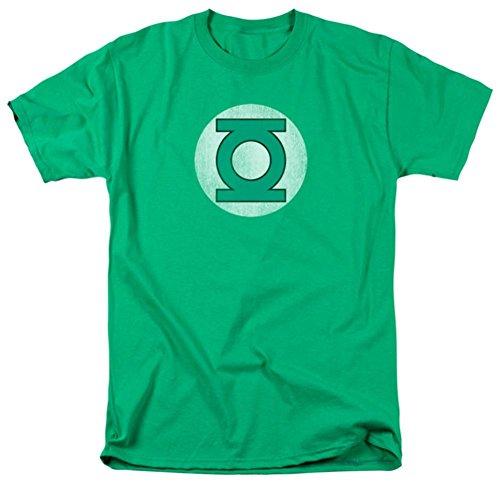 DC Comics Green Lantern Faded Logo Symbol T-shirt (Medium)