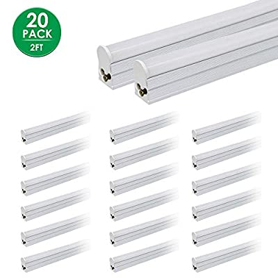 LED T5 Integrated Tube Linkable 2FT 12W 1000lm ...