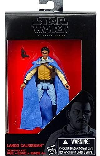 Star Wars Hasbro The Black Series - Lando Calrissian - Figura articulada 9,5 cm