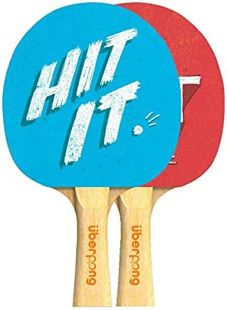 Uberpong Ping Ranking New York Mall TOP9 Pong Paddle – Hit Racket Tennis Quit or It
