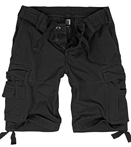 BW-ONLINE-SHOP Vintage Shorts schwarz - XL