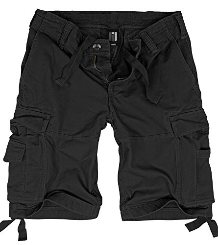 BW-ONLINE-SHOP Vintage Shorts schwarz - L