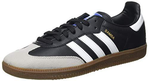 adidas Samba Vegan, Sneaker Hombre, Footwear White/Core Black/Gum, 46 EU