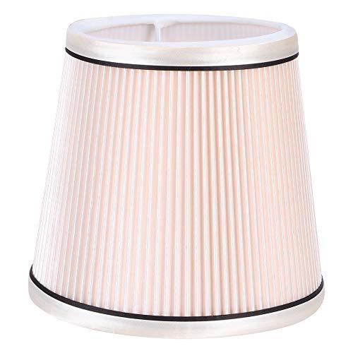 Moderne lampenkap, stoffen hangende hanglampkap Lampenkap lamphouder voor woonkamer slaapkamer(Roze)