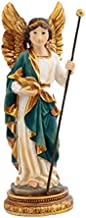 DRW Figura Arcángel San Rafael 11 cm Resina en Caja PVC con la Historia