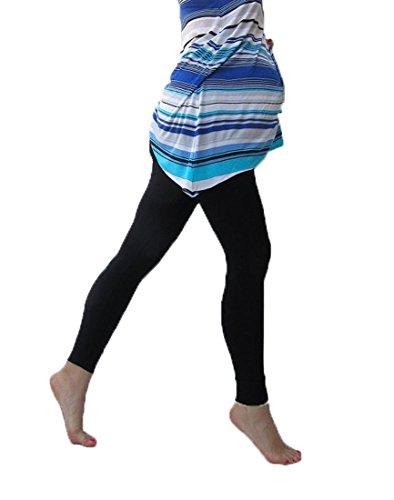 Mia maternity - Leggings spécial grossesse - Femme noir Noir S