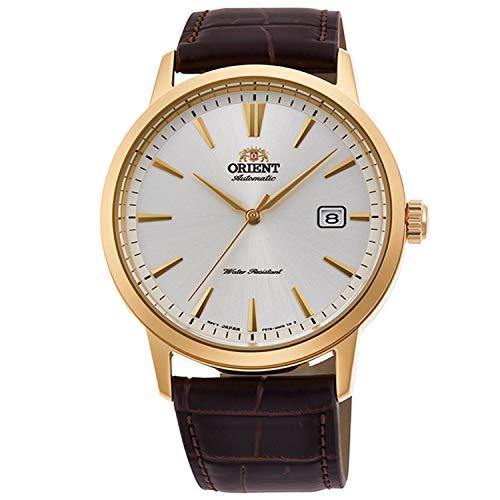 Orient Reloj Analógico para Hombre de Automático con Correa en Cuero RA-AC0F04S10B