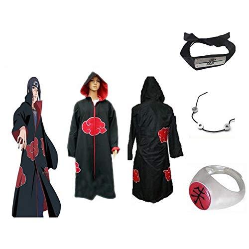 Bleu Tissu CoolChange Gants de Naruto de Kakashi Hatake pour Costume Cosplay
