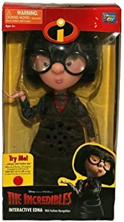 The Incredibles Interactive Edna With Fashion Recognition