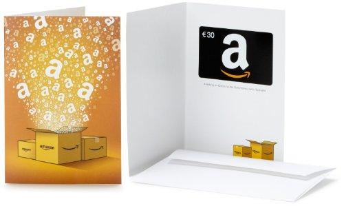 Amazon.de Geschenkkarte in Grußkarte - 30 EUR (Alle Anlässe)