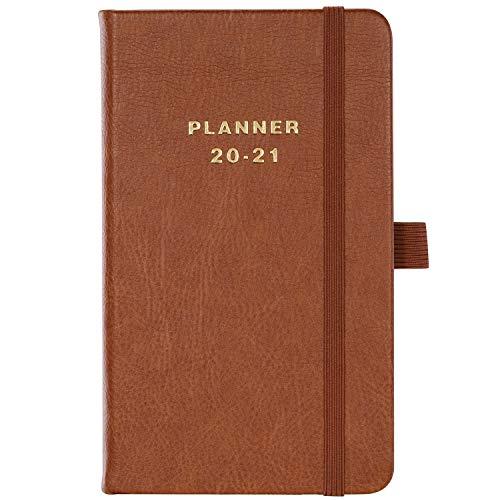 Kalender 2020 2021 A6- Kleiner Wochenplaner 16x10cm Taschenkalender Von Juli 2020 bis Juni 2021 Terminplaner für perfektes Zeitmanagement