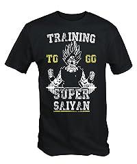 6 té Niners Negro Entrenamiento to go Super Saiyan – Camiseta