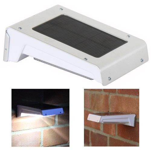 lampes solaires à détecteur de mouvements Frostfire 16 LED solaire sans fil avec détecteur de mouvement