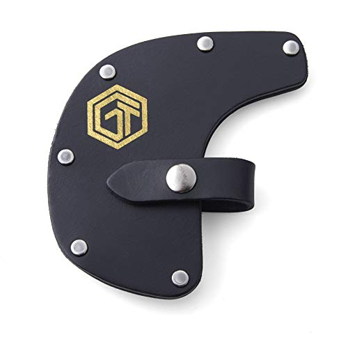Off Grid Tools OGT-SABLS Survival Axe Elite Leather Sheath, Black