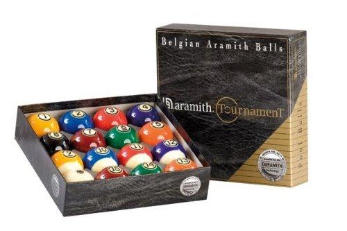 Aramith Tournament- Bolas de Billar (57,2 mm)