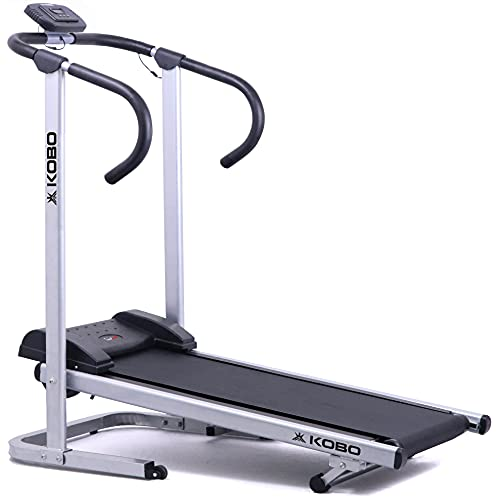 Kobo Manual Treadmill for Home Cardio Weight Loss Gym Workout – Free DIY Installation Support