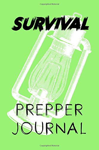 Survival Prepper Journal: Make sure you have everything you need for all your survivalist wants. An excellent checklist notebook, free from any technology needs apart from a pen or pencil of course