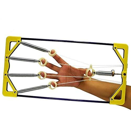 JIALANG Finger-Spreizer Finger Krafttraining veränderliche Distanzeinstellung Fingerkraft Rehabilitation Strong Grip Finger Orthese Übung
