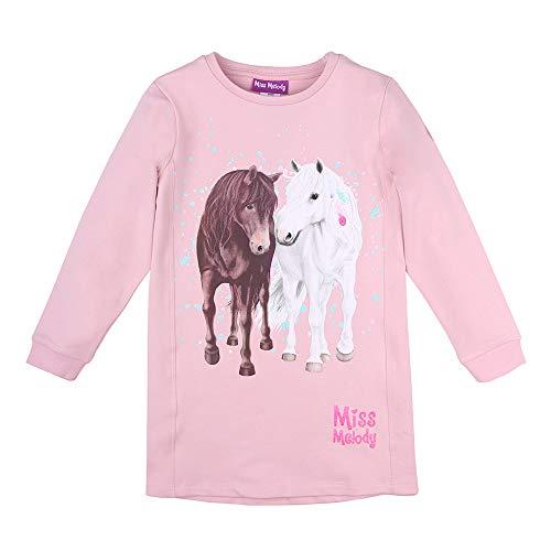 Miss Melody Mädchen Kleid, rosa, Größe 116, 6 Jahre