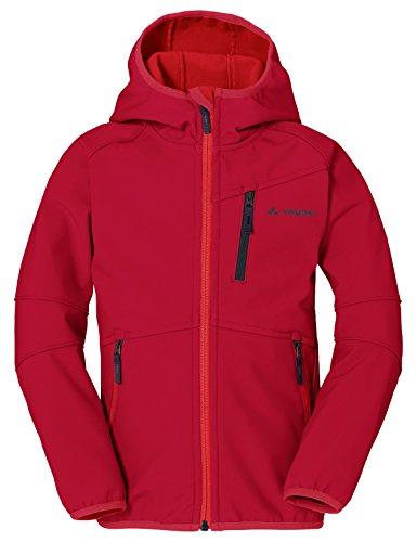 VAUDE Kinder Rondane Jacket Ii Jacke, indisches Rot, 110/116