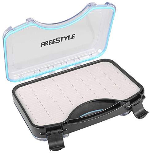 Spro Freestyle Rigged Box 19x12x4cm - Kunstköderbox für Spinnköder & Gummifische, Tacklebox für Jighaken & Stinger, Angelbox