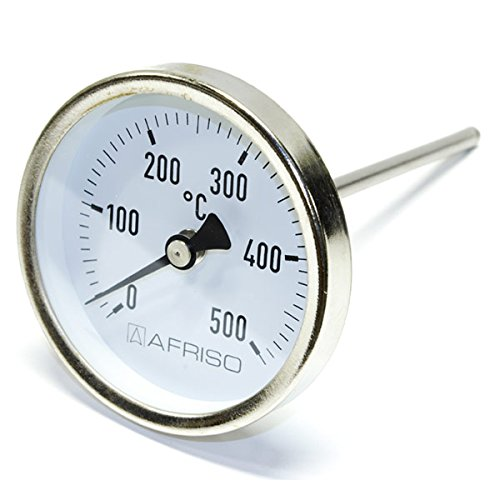 Afriso Rauchgas-Thermometer 0-500°C 150mm