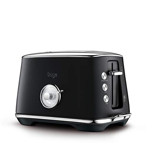 SAGE STA735 Toast Select Luxe 2-Scheiben-Toaster mit LED-Fortschrittanzeige, Matt-Schwarz