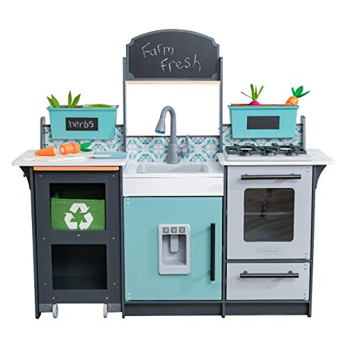 KidKraft 53442 Garden Gourmet Play Kitchen, Age of 3-5