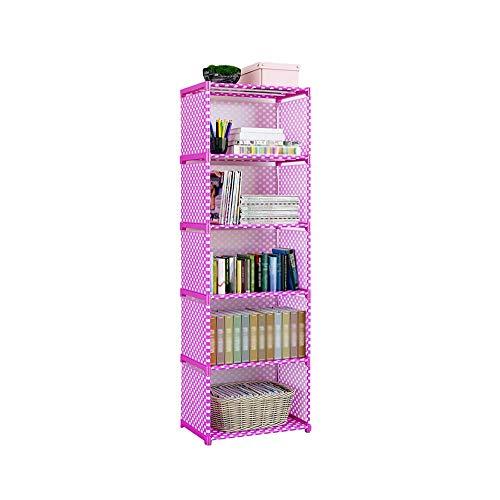 YLCJ Opbergkast, multifunctioneel, eenvoudig, voor slaapzaal, voor boekenkast, studenten, gemakkelijk te reinigen, eenvoudige installatie (kleur: D, afmetingen: 41 x 29 x 125 cm)