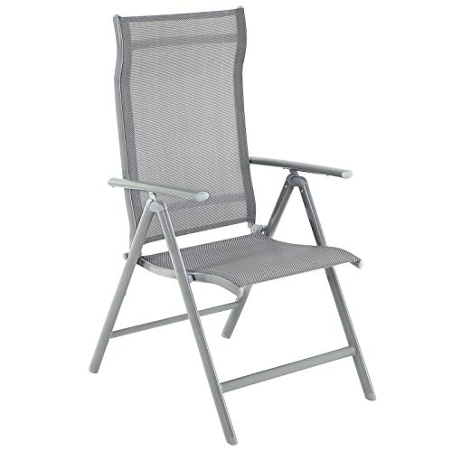 SONGMICS Set of 2 Folding Garden Chairs