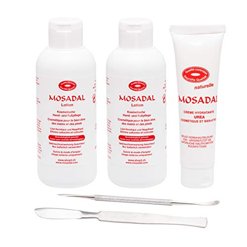 Mosadal® Hornhautentferner Family Set - Professionelle Hornhaut- und Nagelhautentfernung als Pflegeset