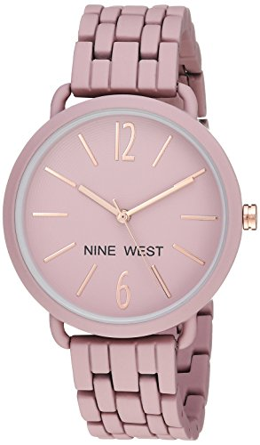 Nine West Women's Rubberized Bracelet Watch -$24.99(32% Off)