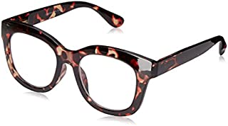 Peepers Women's Center Stage 2300250 Oval Reading Glasses, Tortoise, 2.5