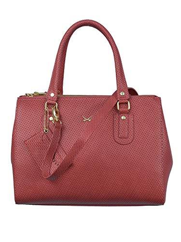 SANSIBAR-Damen Zipp-Bag 33x25x13 086-Coral