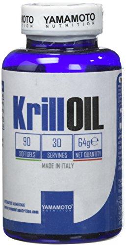 Yamamoto Nutrition KrillOIL integratore alimentare a base di Olio di Krill antartico con Astaxantina 90 capsule
