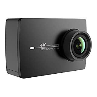 YI 4K Action Camera 4K / 30fps Videoregistrazione da 12 MP ActionCam con Touch Screen LCD 155 ° grandangolare 5.56 cm, Wi-Fi e App per Smartphone, comando vocale. Nero (B01I40DE6Y) | Amazon price tracker / tracking, Amazon price history charts, Amazon price watches, Amazon price drop alerts